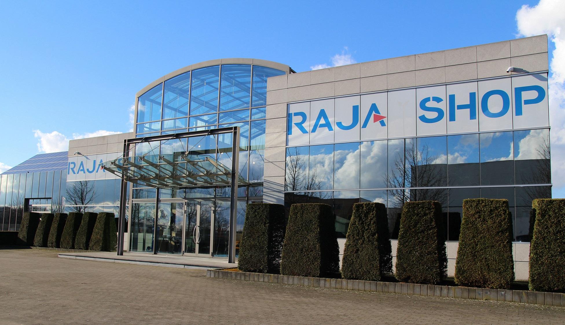 Rajashop, het eerste servicepunt van Rajapack in België