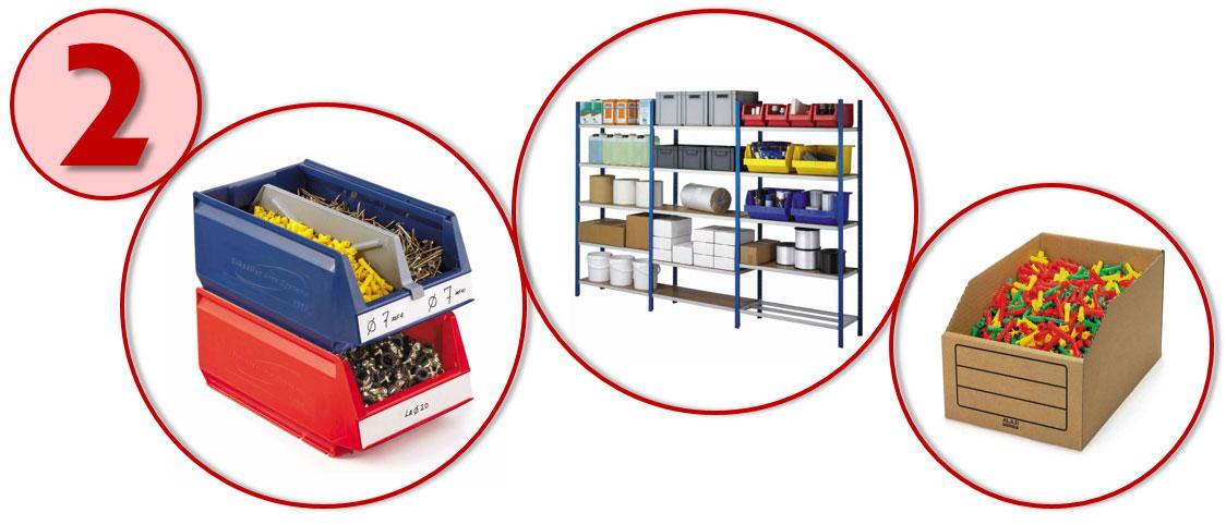 Kies voor de juiste magazijninrichting en sla je producten overzichtelijk op.