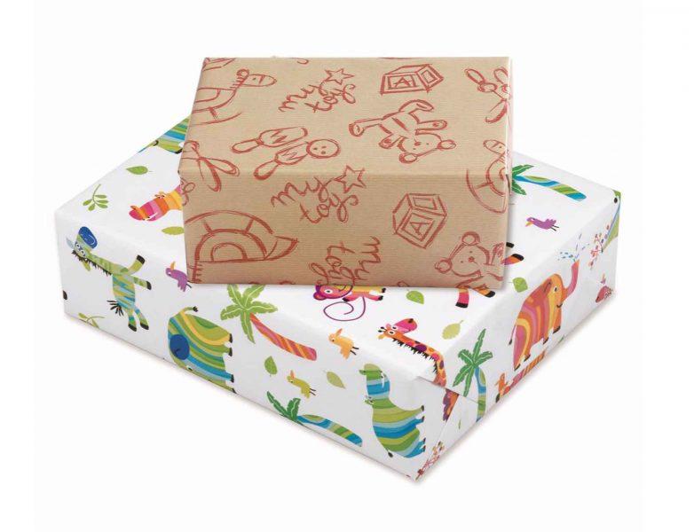 Cadeaupapier voor kinderen