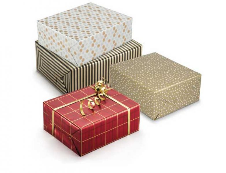 Feestelijk cadeaupapier