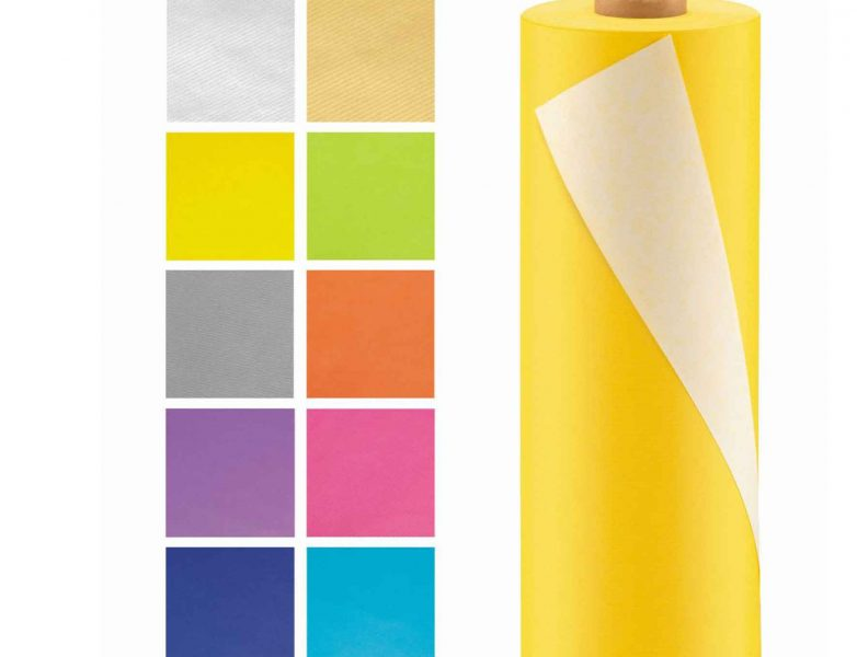 Kraftpapier heldere kleuren