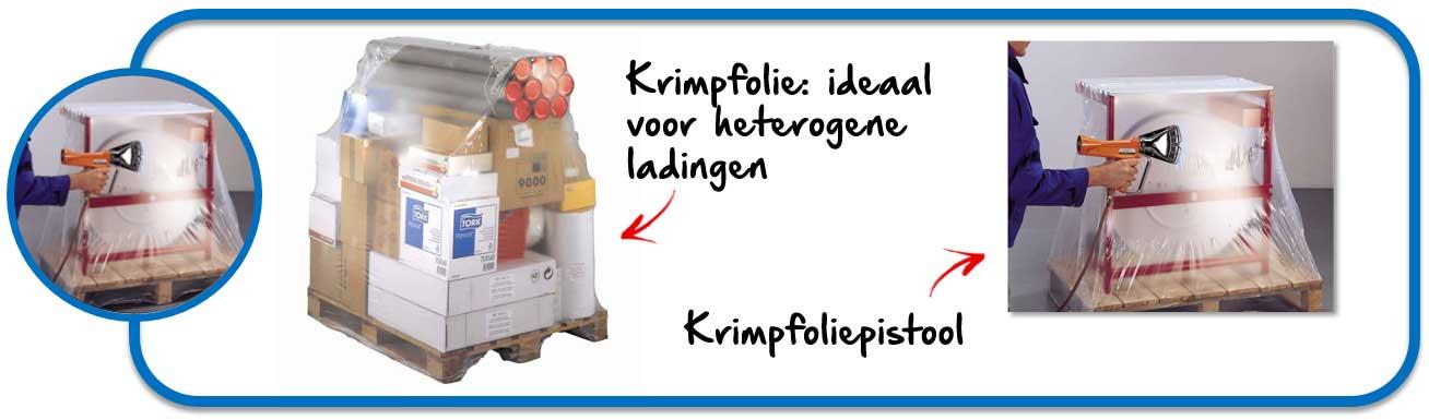 Krimpfolie voor heterogene of zwaardere ladingen