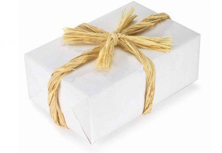 Raffia geschenklint