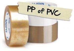 Kies voor PP of PVC tape van Rajapack
