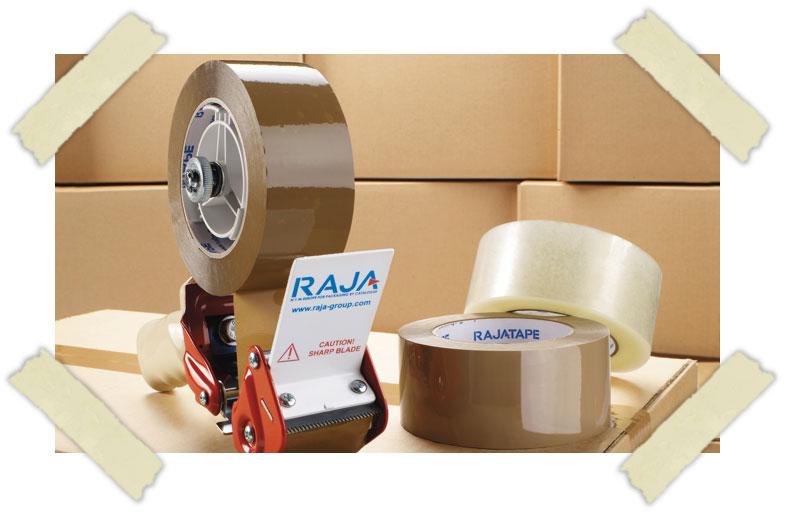 Verpakkingstape van RAJA
