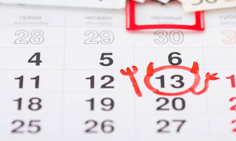 Bereid je magazijn en bureau helemaal voor op vrijdag de 13de