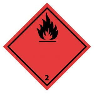 Brandbare gassen