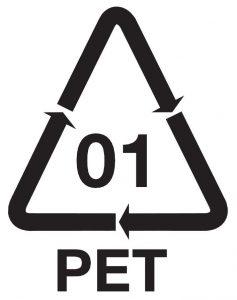 PET of polyethyleen tereftalaat