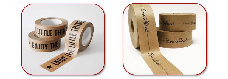 Gepersonaliseerde verpakkingen: bedrukte tapes en kleefbanden