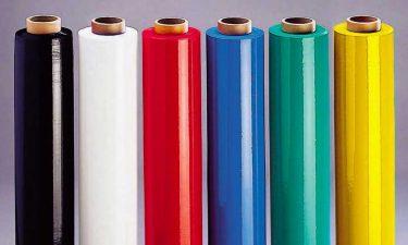 Identificeer en beveilig je pallets met gekleurde wikkelfolie