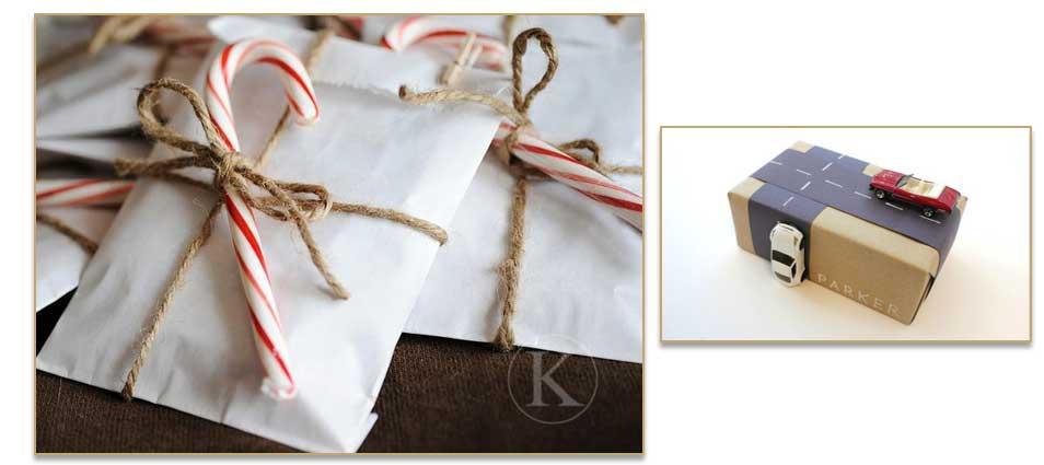 Voeg een extra cadeautje toe aan je verpakking.