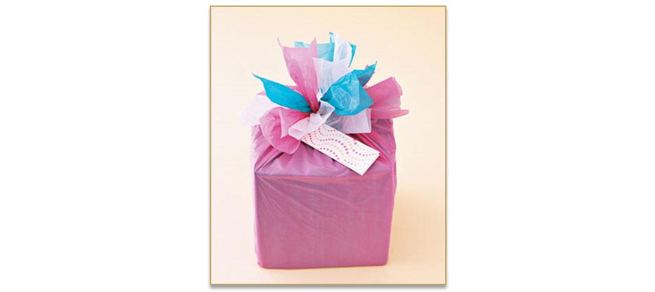 Recycleer je plastic zakken tot een cadeau