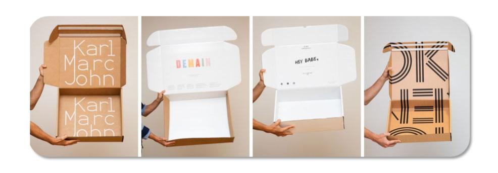 Personaliseer je verpakkingen