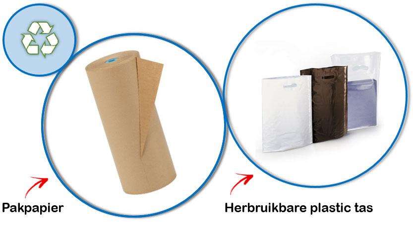 Verpakkingstrend: kies voor duurzame alternatieven tijdens het verpakken.