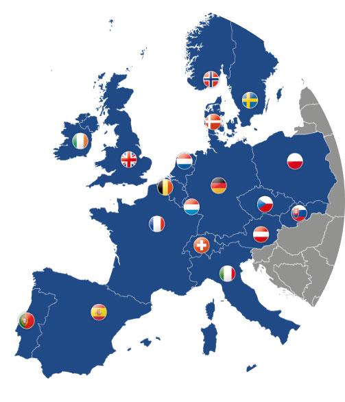 Het merk Raja: aanwezig in heel Europa