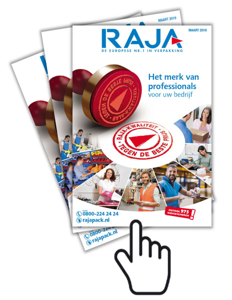 Download hier de nieuwe catalogus van Rajapack