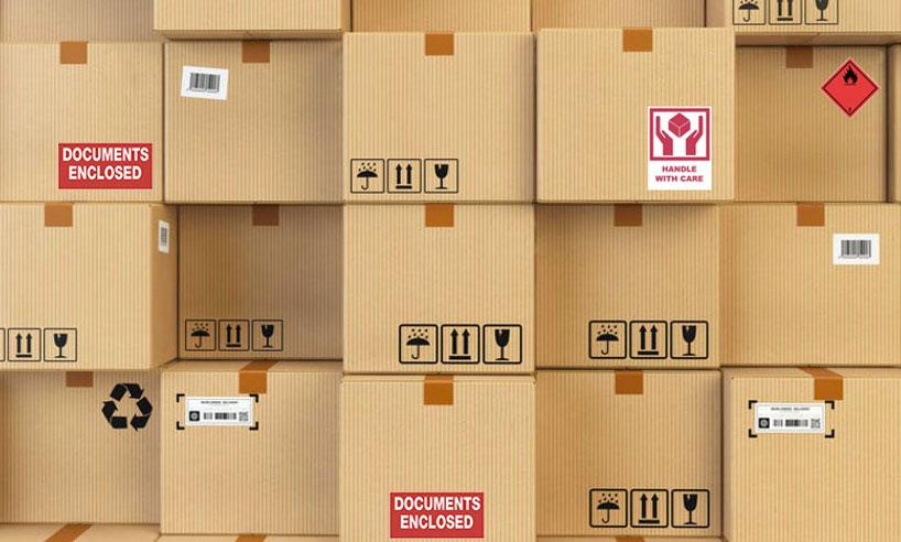 Verpakkingslabels van Rajapack voor een perfecte verzending