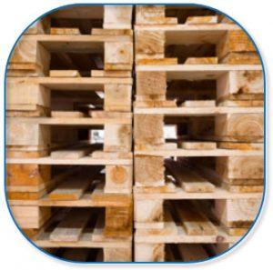 Voor houten pallets worden er geen extra bomen gekapt.