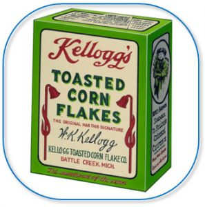 Originele Kellogg's verpakking