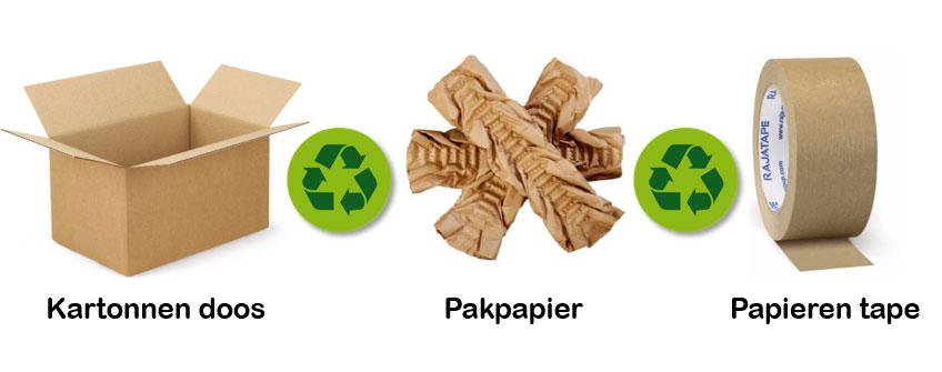 Papier als mono-materiaal
