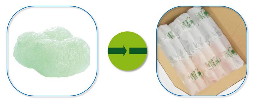 Duurzaam verpakken met plantaardige alternatieven