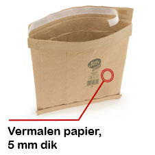 Gewatteerde papieren envelop 65% gerecycled
