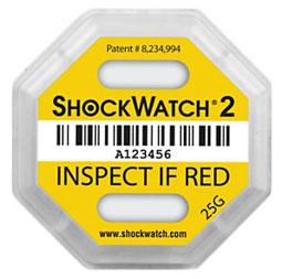 Slimme verpakkingen: de shockwatch schokindicator