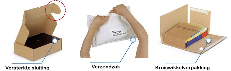 Voorkom diefstal van e-commerce verpakkingen met een aangepaste postdoos