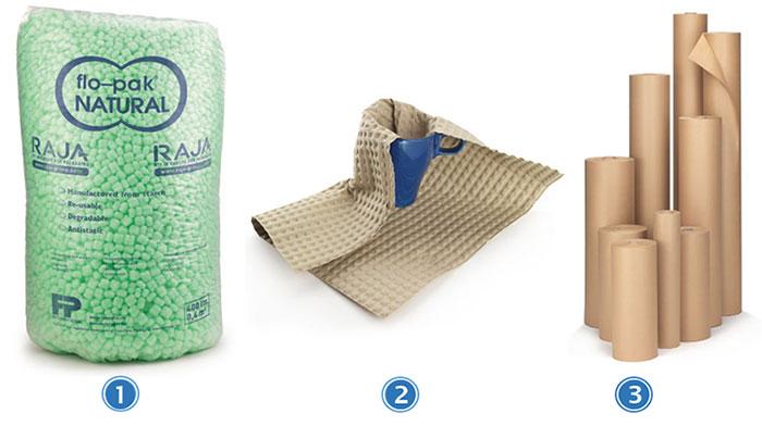 Duurzaam opvulmateriaal voor verpakkingen