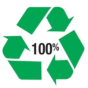 ecologisch label voor recyclebare verpakkingen