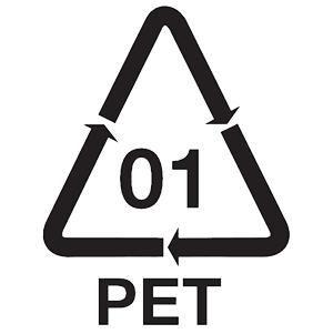 Ecologisch label voor recyclebaar plastic