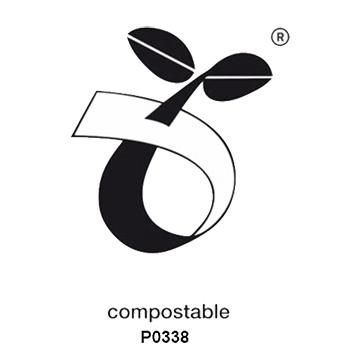 Seedling logo voor Europese bioplastics