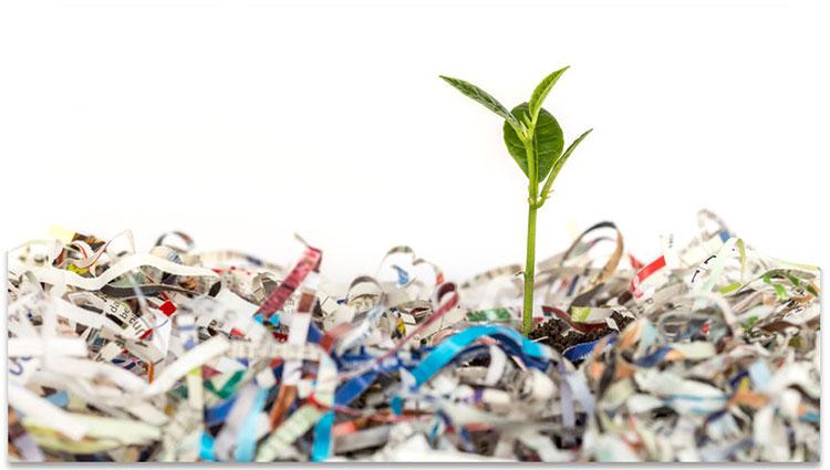 Recycling van papier
